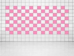 Fliesenaufkleber Pink (A716) 20er Set