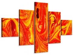 Leinwandbild 5-teilig Wandgemälde