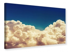 Leinwandbild Himmelswolken