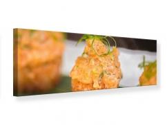 Leinwandbild Panorama Asiatische Küche