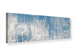 Leinwandbild Panorama Das Eis des Baikalsees