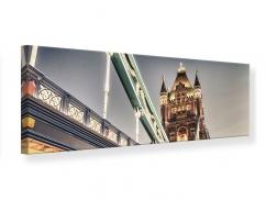 Leinwandbild Panorama Tower Bridge XXL