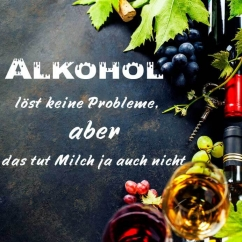 Wandtattoo Alkohol