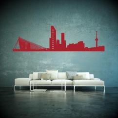 Wandtattoo Skyline Rotterdamm