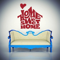 Wandtattoo Home sweet home