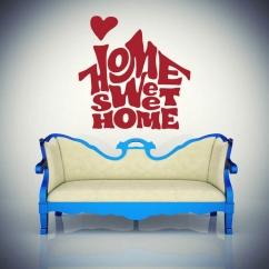 Wandtattoo Home sweet home