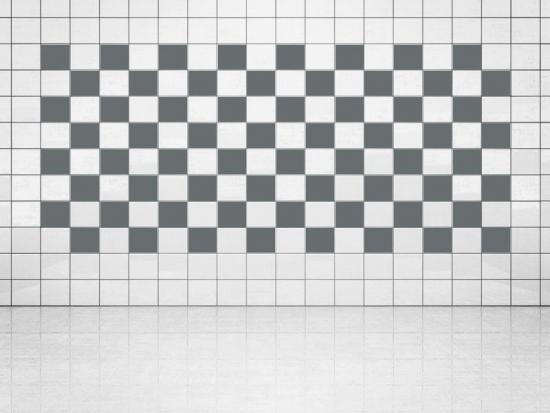 Fliesenaufkleber Grau (A720) 20er Set