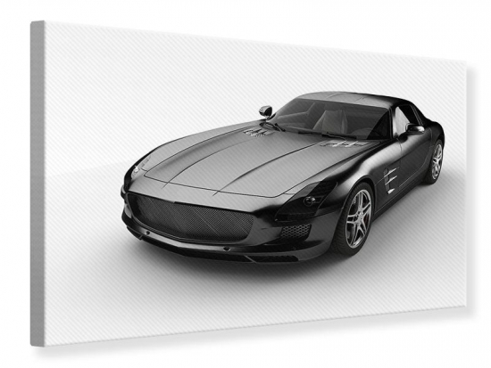 Leinwandbild 007 Auto 60 x 40 cm
