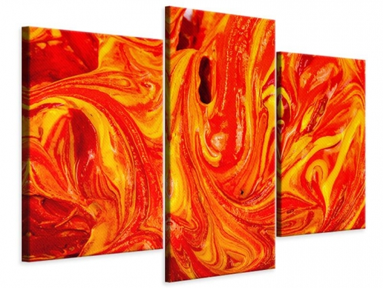 Leinwandbild 3-teilig modern Wandgemälde