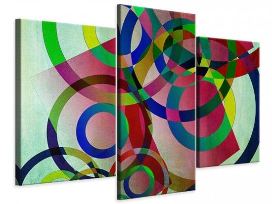 Leinwandbild 3-teilig modern Wandkunst