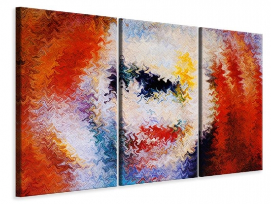 Leinwandbild 3-teilig Wandmalerei