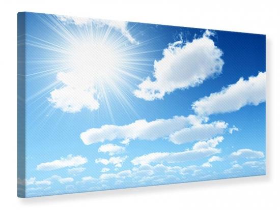 Leinwandbild Am Himmel 120 x 80 cm