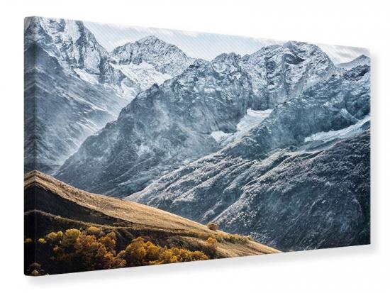 Leinwandbild Gigantische Berggipfel