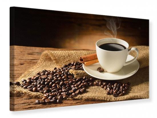 Leinwandbild Kaffeepause