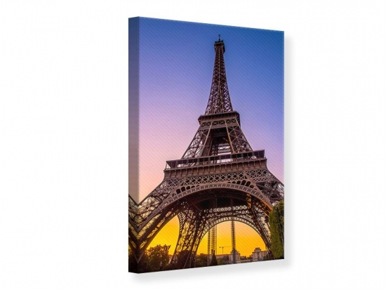 Leinwandbild Paris- Eiffelturm 30 x 45 cm