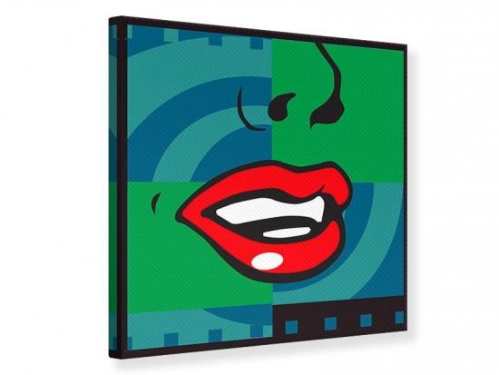 Leinwandbild The Mouth