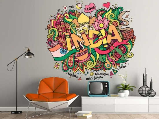 Wandtattoo India