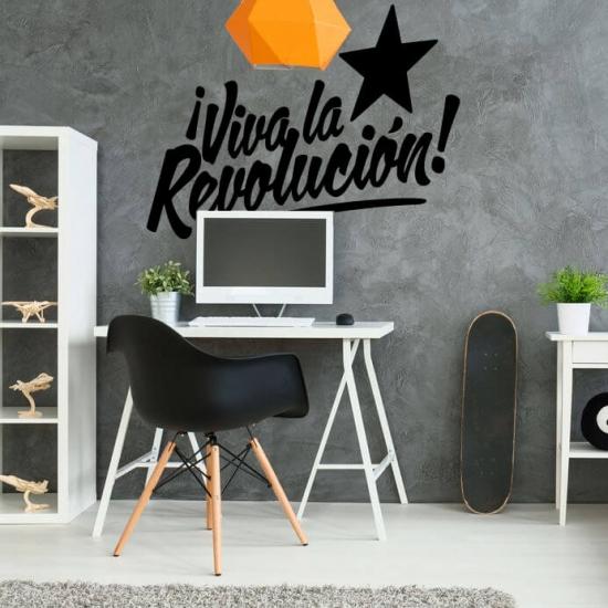 Wandtattoo Viva la Revoluciòn Hoch lebe die Revolution