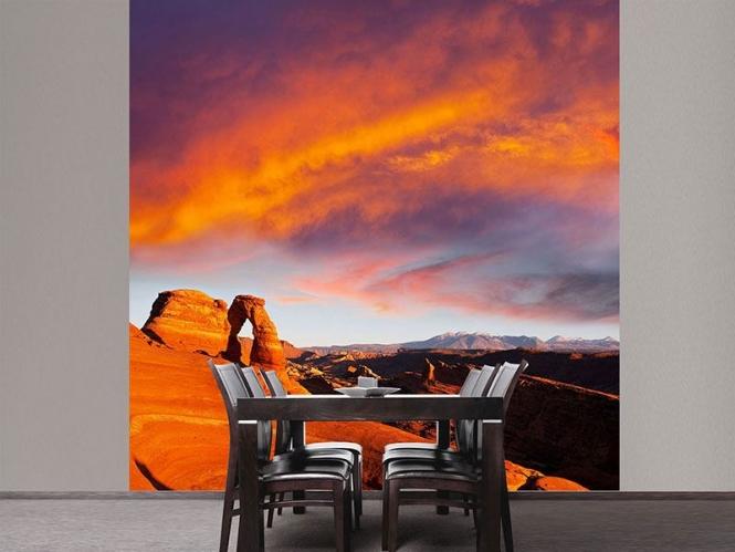vlies fototapete sonnenuntergang im canon versandkostenfrei ab 40. Black Bedroom Furniture Sets. Home Design Ideas
