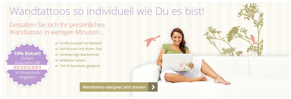 Wandtattoo Tapeten Leinwande Selbst Gestalten Mit Foto Text